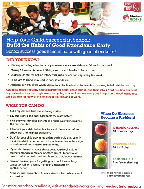 Attendance Parent Information